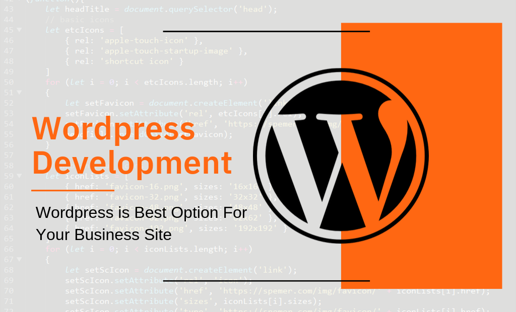 Wordpress is Best Option For Your Business Site